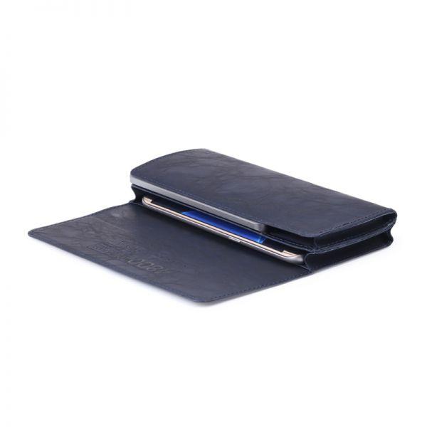 P4-4800 wallet-type eksterna baterija 4800mah teget
