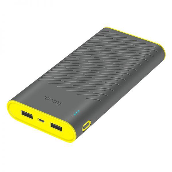 B31A Rege dual USB eksterna baterija 30000mAh siva