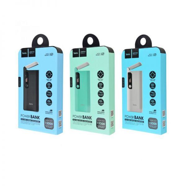 B27-15000 Pusi mobile eksterna baterija 15000mAh sa lampom crna
