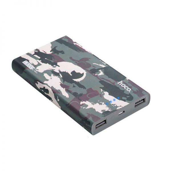 B12C Camouflage pattern eksterna baterija 13000mAh dual USB