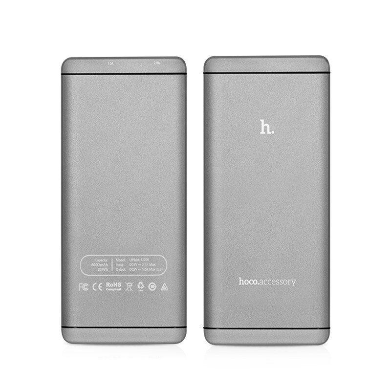 UPB03-6000 I6 eksterna baterija 6000mAh siva