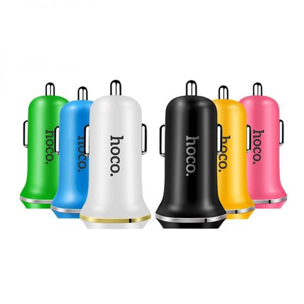 Hoco set Z1 Auto punjač i kabl micro USB pink
