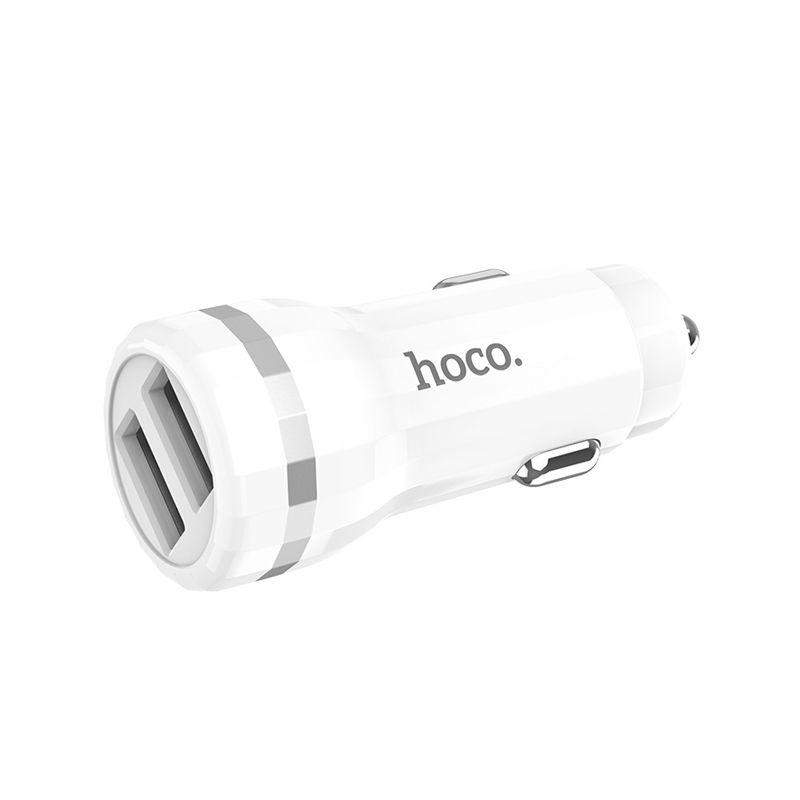 Hoco Z27 Staunch dual USB auto punjač