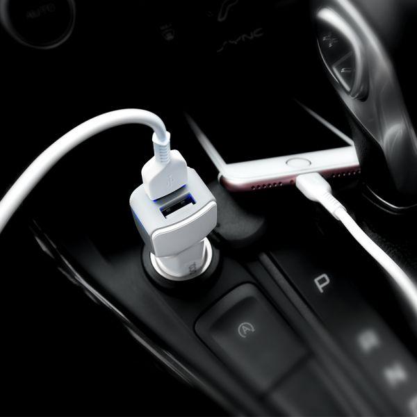 Hoco set Z23 Grand style dual USB auto punjač i kabl lightning iPhone