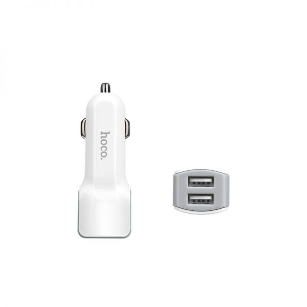Hoco set Z23 Grand style dual USB auto punjač i kabl micro USB