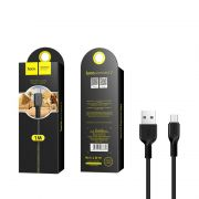 Hoco X20 Flash micro USB kabl crni 1m