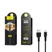 Hoco X20 Flash micro USB kabl crni 2m
