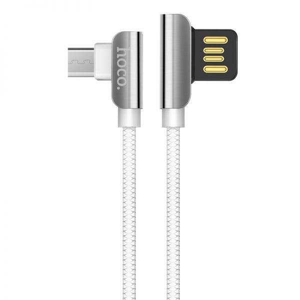 Hoco U42 Exquisite steel micro USB kabl beli