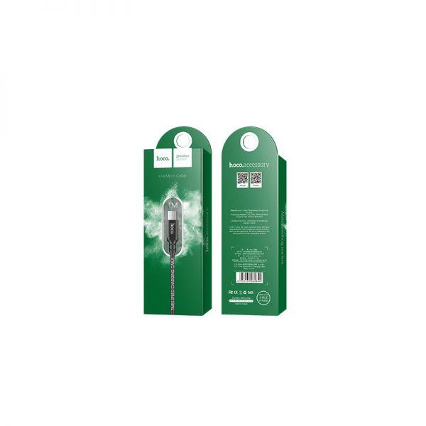 Hoco X14 Times speed micro USB kabl 1m crni