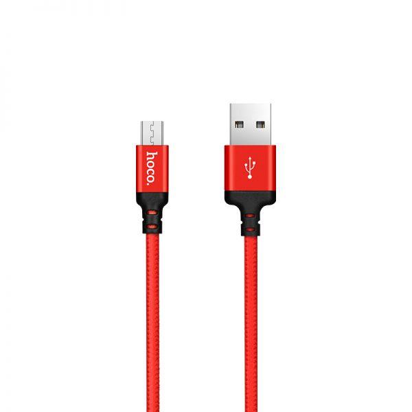 Hoco X14 Times speed micro USB kabl 1m crveni