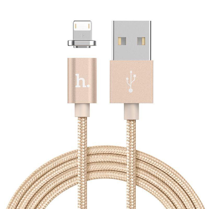 Hoco UPL22 Magnetni kabal za iPhone 5/5s/5c/SE/6/6s/6Plus/6sPlus, zlatni