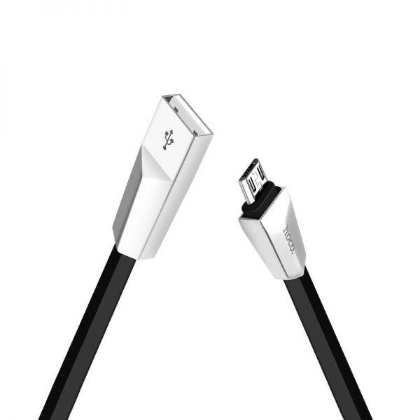Hoco X4 micro USB kabl crni