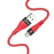 Hoco U53 4A Flash micro USB kabl crveni