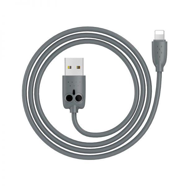 Hoco kikibelief KX1 lighting kabl sivi