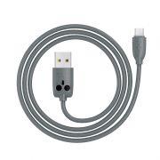 Hoco kikibelief KX1 micro USB kabl sivi