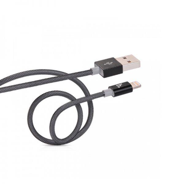 Hoco UPL09 Metal USB kabal za iPhone 5/5s/5c/SE/6/6s/6Plus/6sPlus, crni