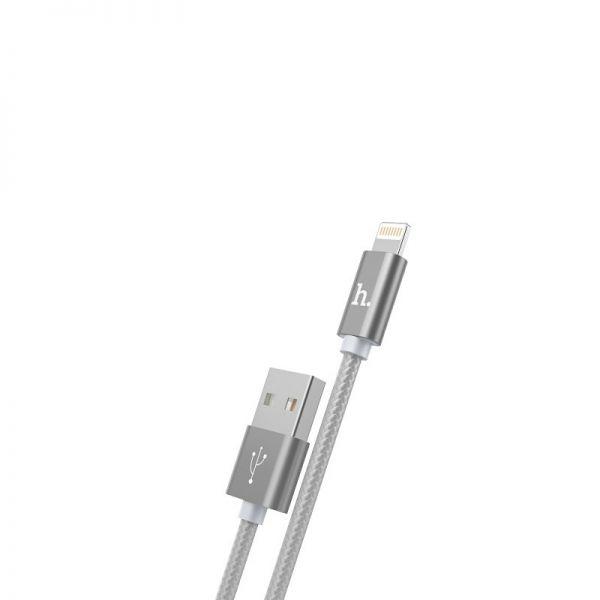 Hoco X2 Rapid charging lighting USB kabl sivi
