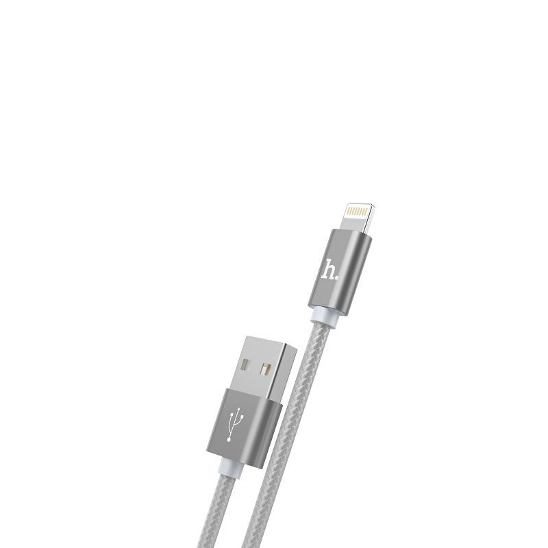 Hoco X2 Rapid charging lighting USB kabl sivi