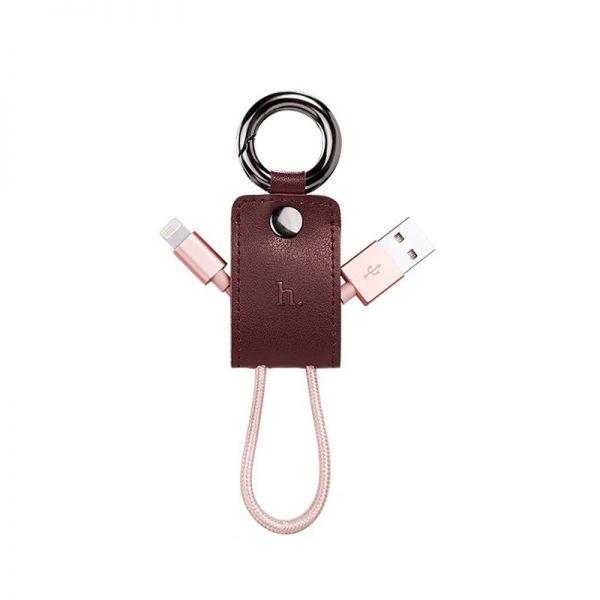 Hoco UPL19 iPhone Kabal privezak za ključeve, crveni