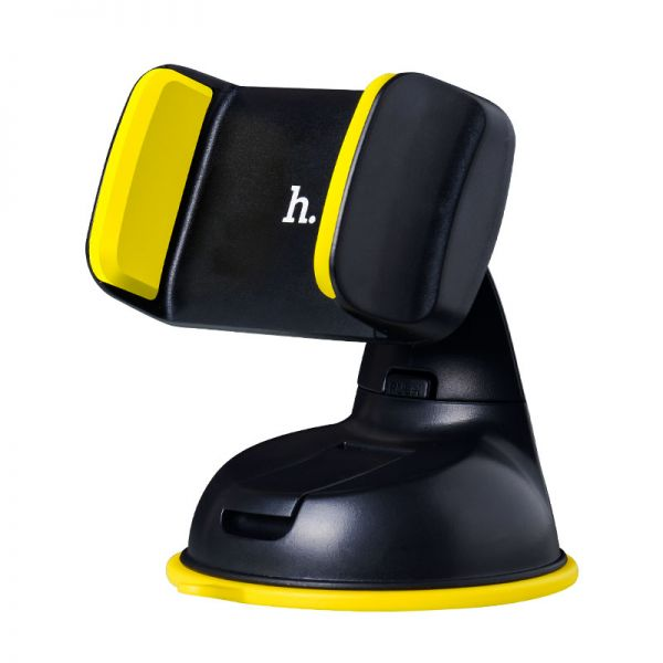 HOCO CA5 Suction vehicle  Holder yellow (auto držač telefona za staklo)