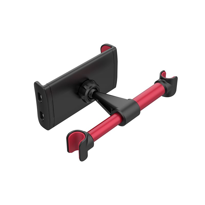 HOCO CA30 Easy travel series backrest car holder black&red ( auto držač mobilnog telefona za zadnje sediste auta)