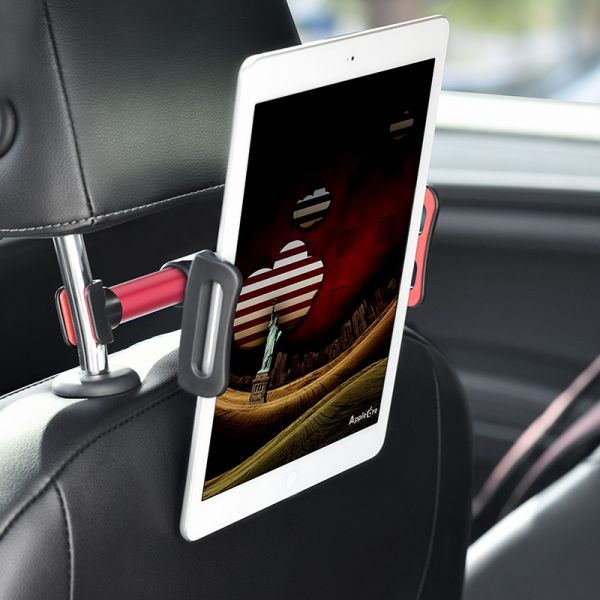 HOCO CA30 Easy travel series backrest car holder black&red ( auto držač mobilnog telefona za zadnje sediste auta)
