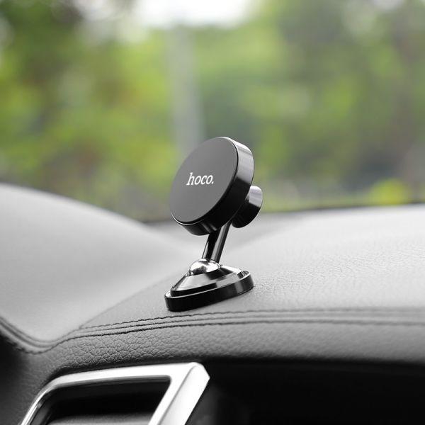 HOCO CA36 Dashboard metal magnetic in-car holder red ( metalni magnetni držač za mobilni telefon)