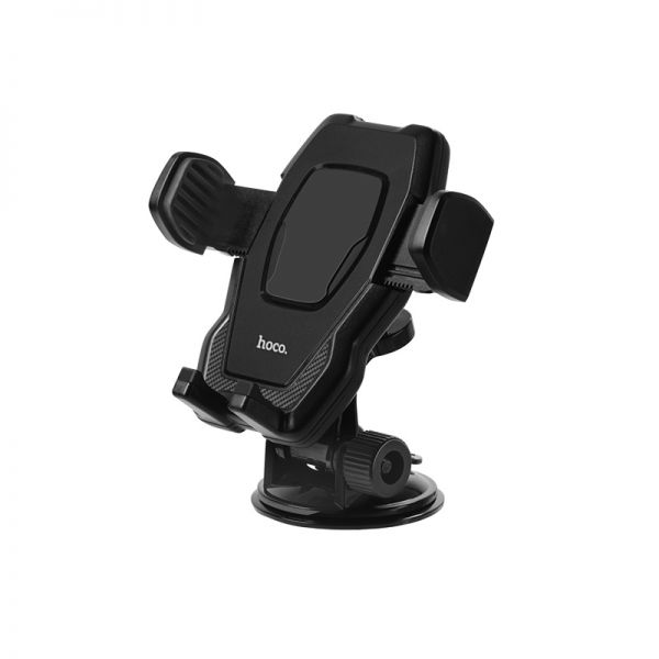 HOCO CA31 cool run suction cup car holder black (držač mobilnog telefona za staklo ili instrument tablu)