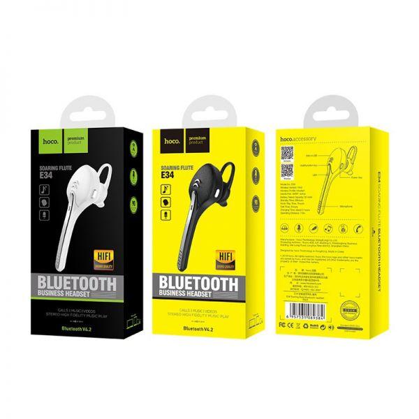 Hoco bluetooth wireless slušalice E34 Soaring flute bele