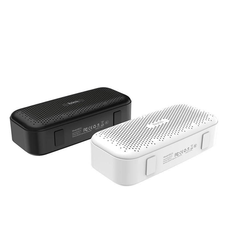HOCO BS23 elegant rhyme wireless speaker white - bluetooth  zvucnik