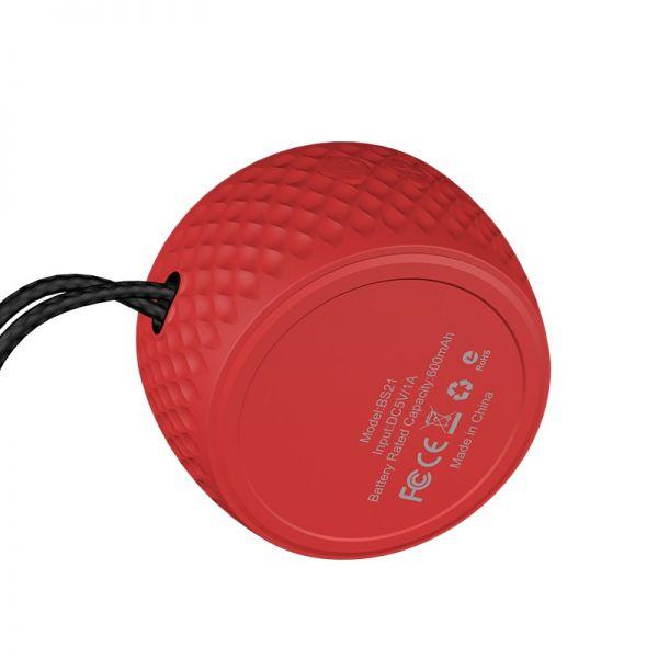 HOCO BS21 Atom bluetooth speaker army green-black-red (bluetooth zvucnik)