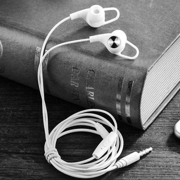 Hoco sportske slušalice M21 Aparo sa mikrofonom bele