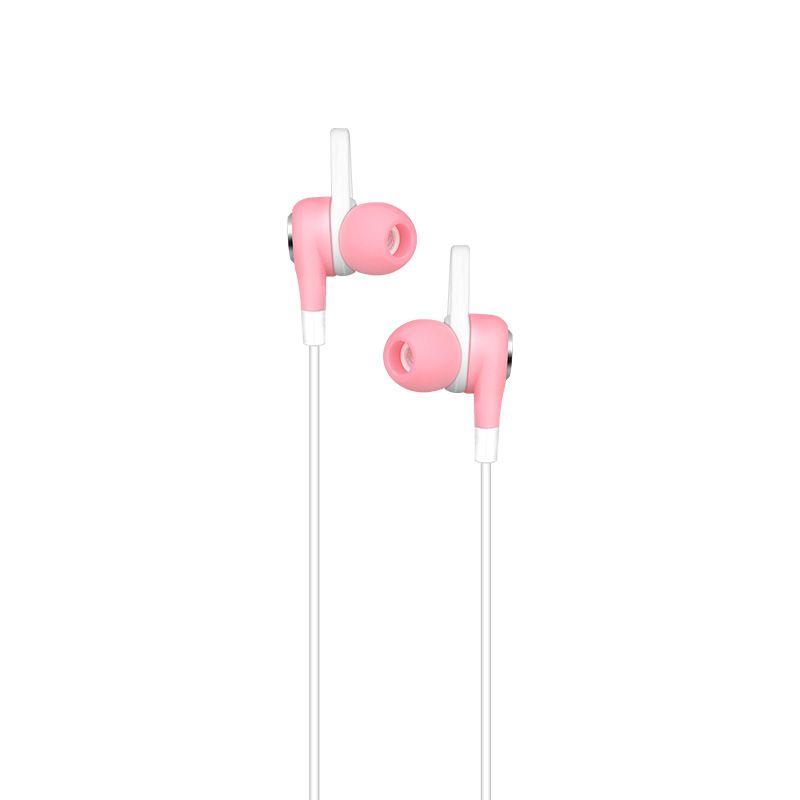 Hoco sportske slušalice M21 Aparo sa mikrofonom pink