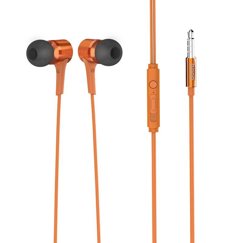 Hoco slušalice M54 Pure music sa mikrofonom oranž