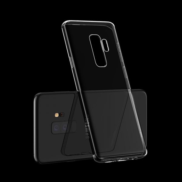 Light series TPU case for Galaxy S9 Plus transparent