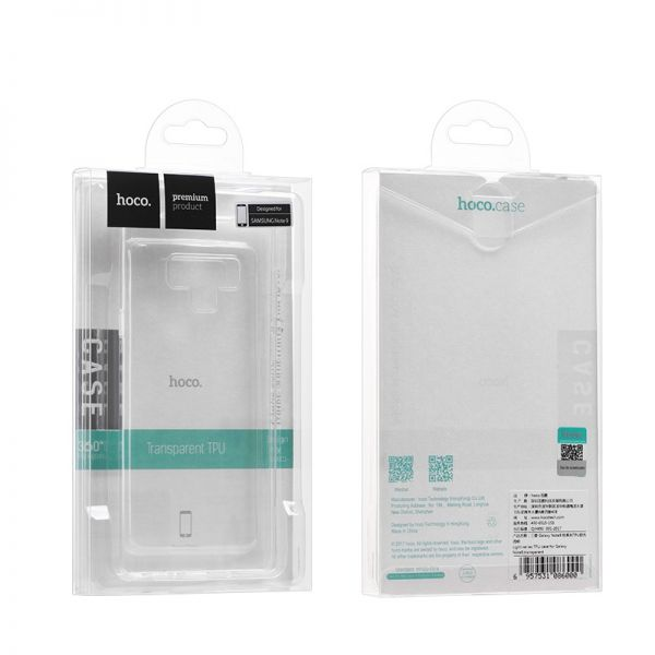 Light series TPU case for Galaxy Note 9  transparent