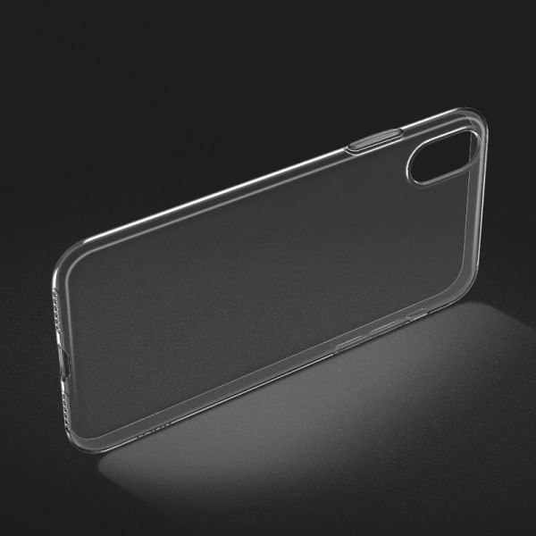 Light series TPU case for iPhone XS Max black