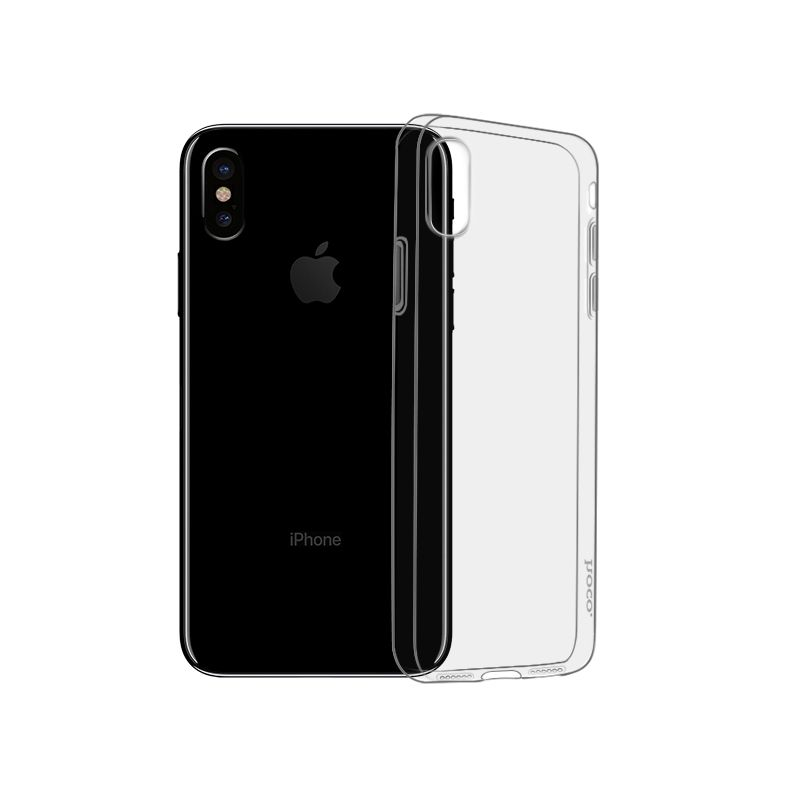 Light series TPU case for iPhone XS black
