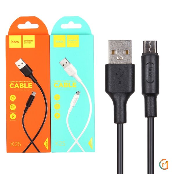 HOCO X25 Soarer Charging Data Cable For Micro