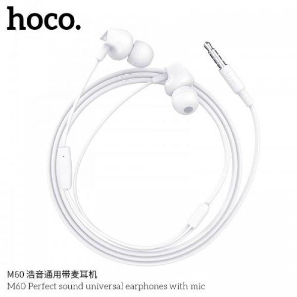 HOCO M60 Perfect sound universal earphones with mic
