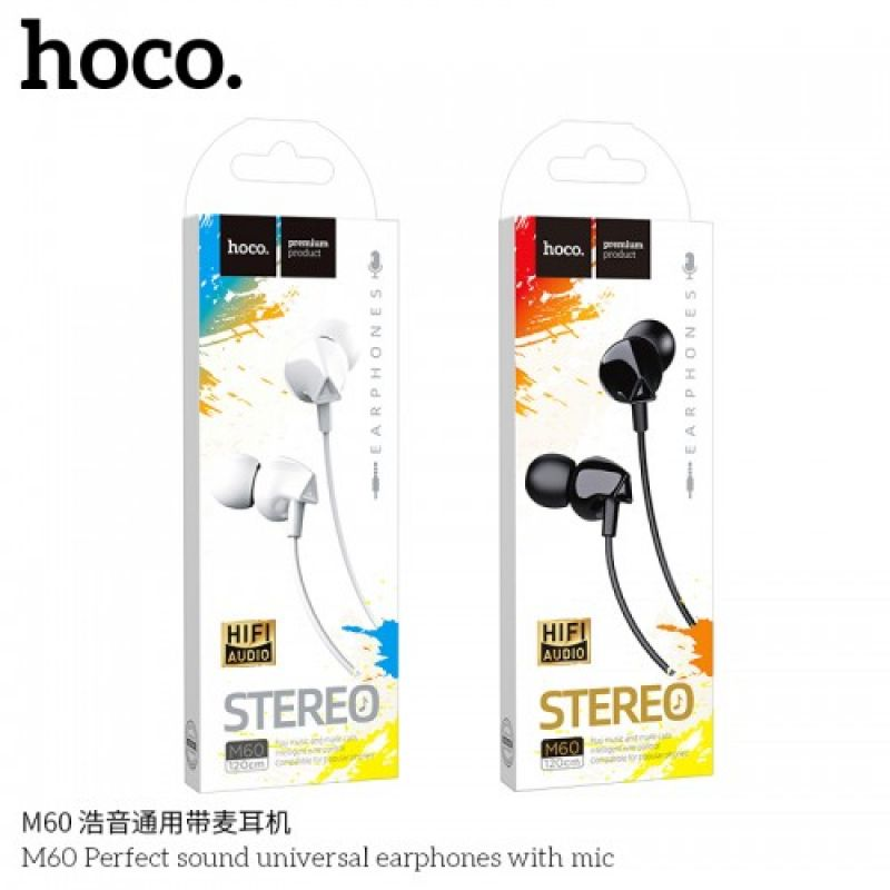 HOCO M60 Perfect sound universal earphones with mic