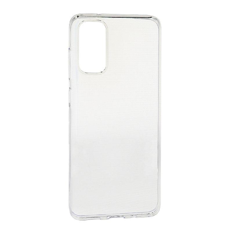 Futrola - maska ultra tanki PROTECT silikon za Samsung G980F Galaxy S20 providna (bela)