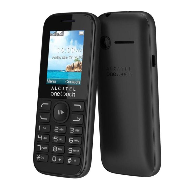 Mobilni telefon Alcatel One Touch 1052D, crni