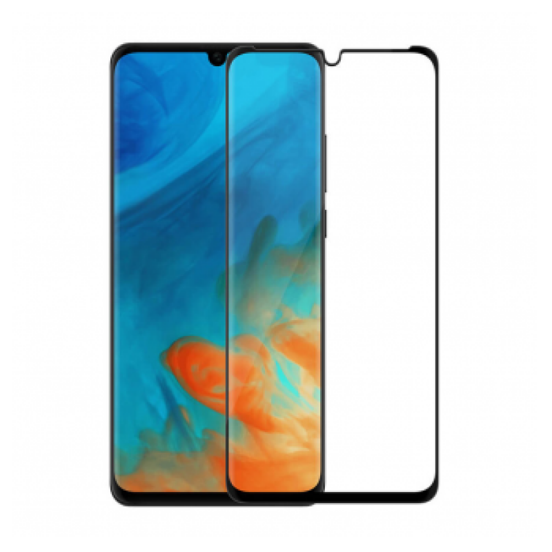 3D MAX Tempered glass Huawei P30 crni FULL COVER
