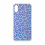 HOLOGRAM 3D LEOPARD IPHONE X/XS PLAVA.