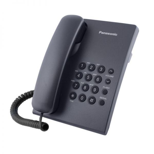 Žični telefon Panasonic KX-TS500FXH, sivi