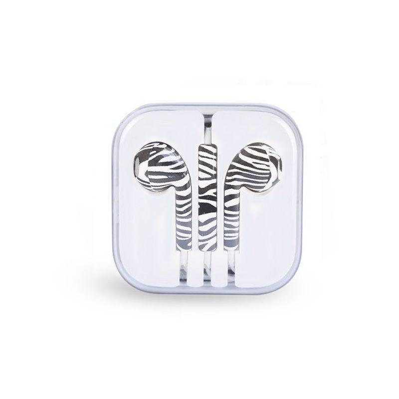 Slušalice za iPhone 3.5mm zebra