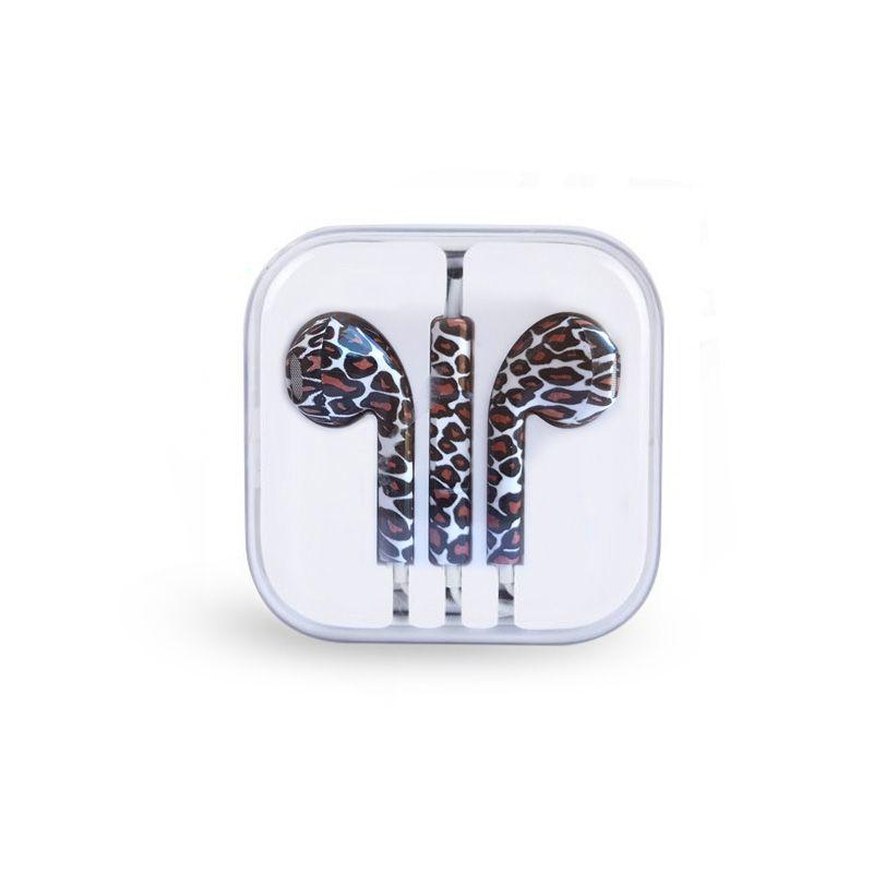 Slušalice za iPhone 3.5mm leopard