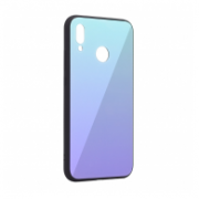 GLASS MIRROR CASE HUAWEI P20  PLAVA