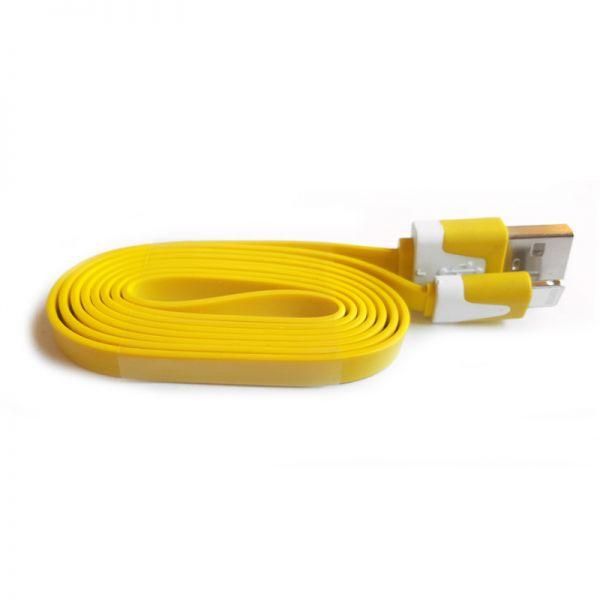 Kabal za iPhone 5/5s/5c/SE/6/6s/6+/6s+ TPNM flat, žuti